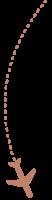 Fliegerpfeil-rechts-caramel